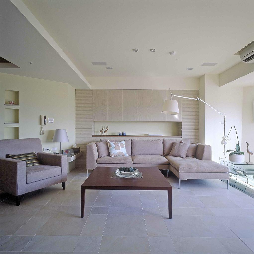 简约风格三室两厅客厅效果图