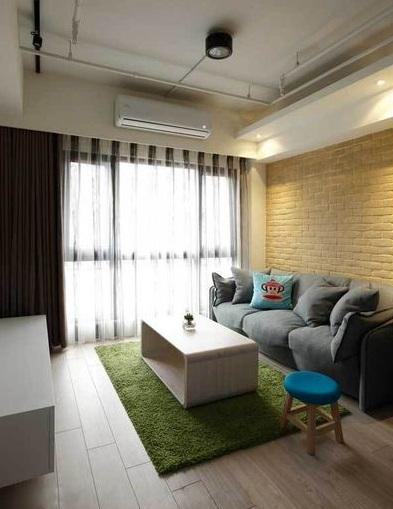 现代简约风格一居室设计