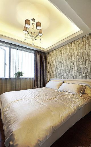 时尚现代卧室装修样板房