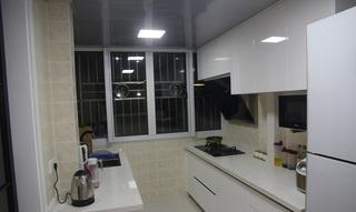 白色简约家居厨房装修效果图