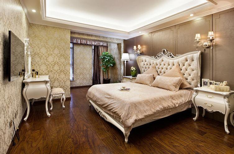 奢华大气欧式新古典卧室装饰大全