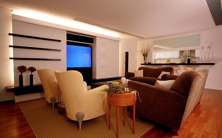 家装客厅简约风格装修效果图