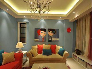 小年轻最爱简约现代公寓新房装潢图