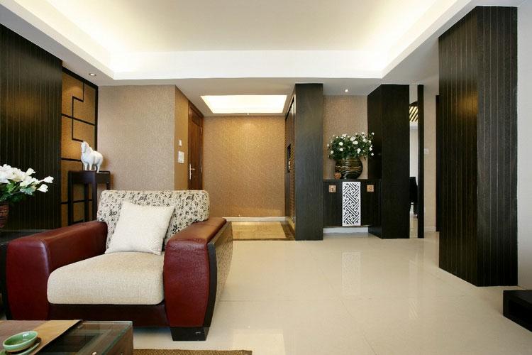 新中式风格家居设计隔断效果图