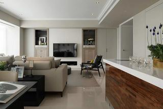 6万半包现代简约风格公寓设计装修图
