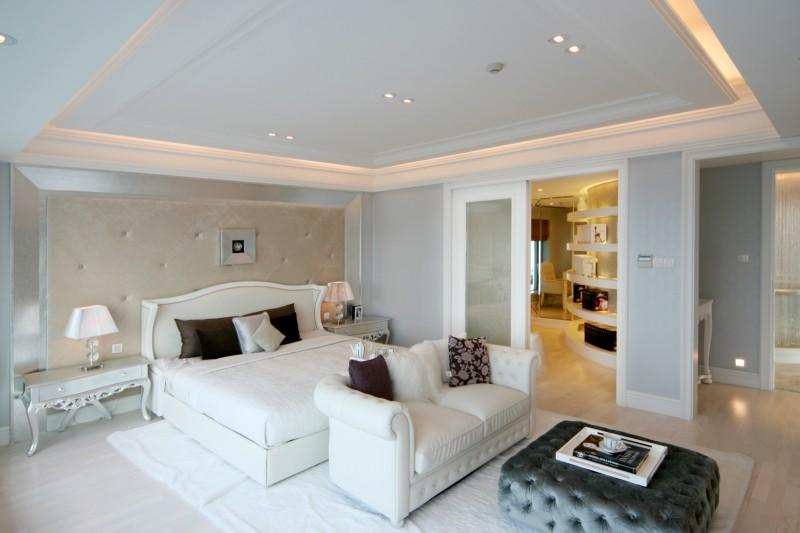 舒适雅致简欧风格卧室设计大全