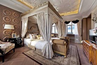 大气豪华欧式宫廷风别墅卧室装饰效果图