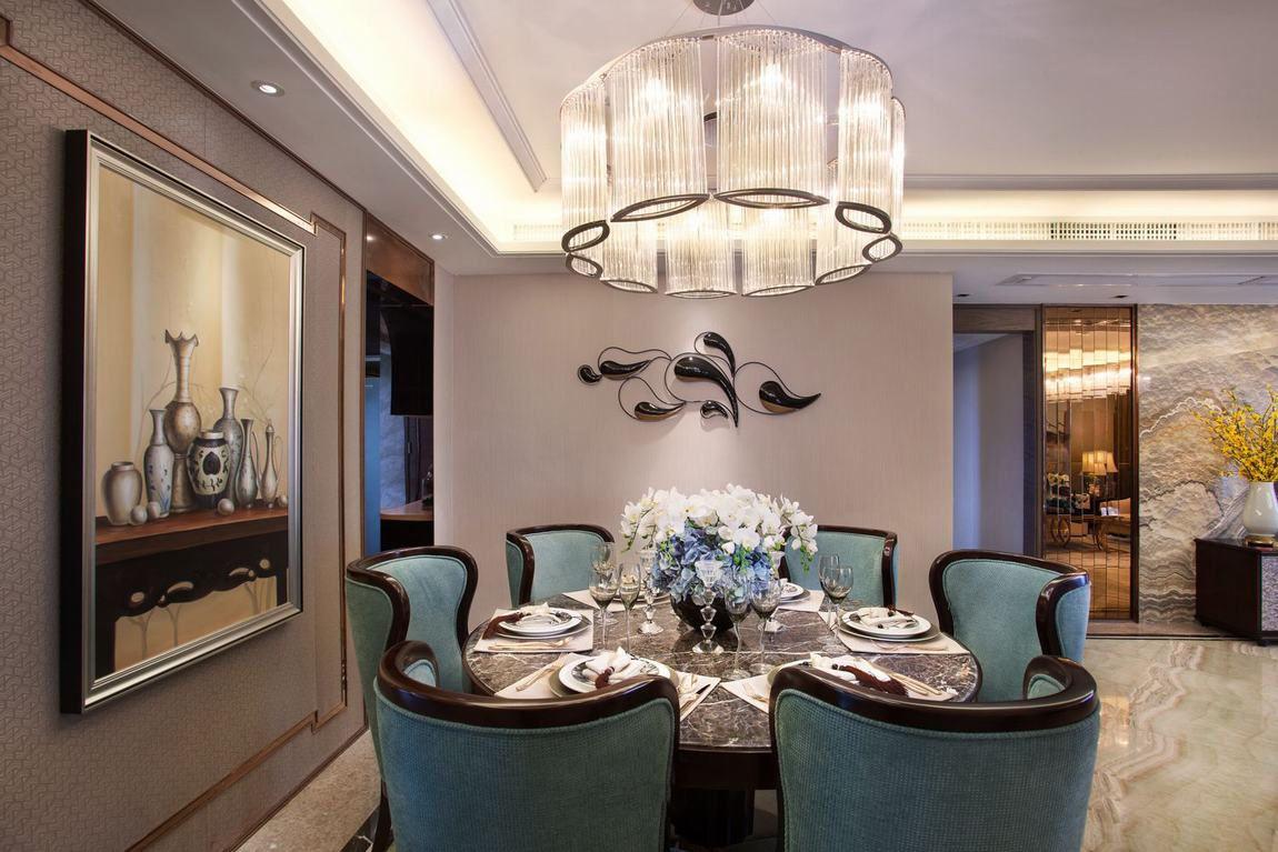 精致奢华美式家装餐厅欣赏大全