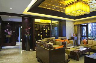 180平儒雅中式新古典四室两厅装修欣赏图