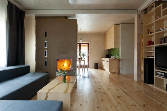 原木韵味北欧设计装修风格复式家装效果图