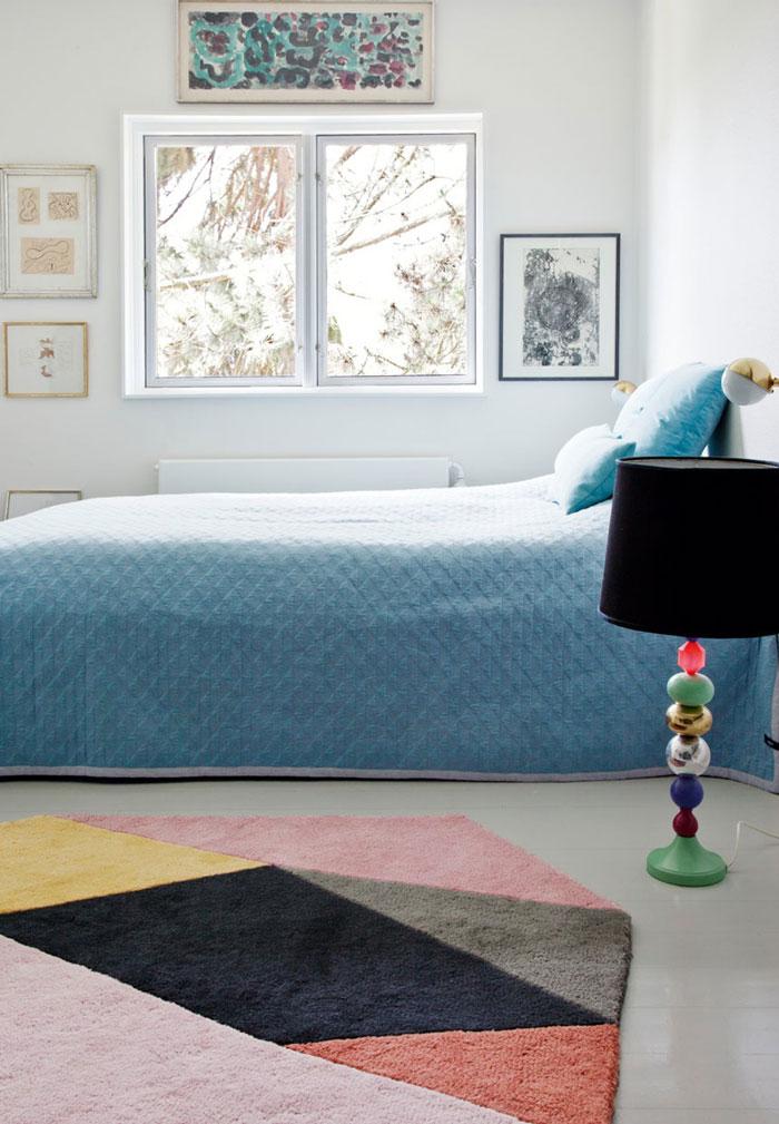 清新彩色北欧创意儿童房间软装效果图