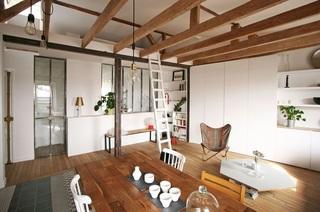 朴素淡雅日式风格客厅设计装修案例图