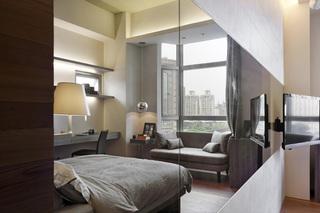 30平小户型现代简约混搭酒店式单身公寓设计