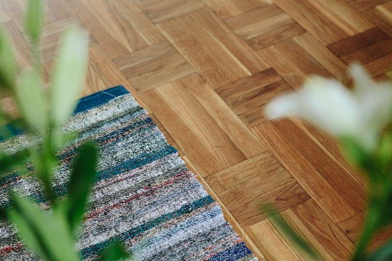 清新田园简约风格家居实木地板装饰效果图