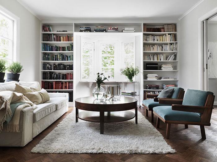 悠闲实用北欧复式客厅设计效果图