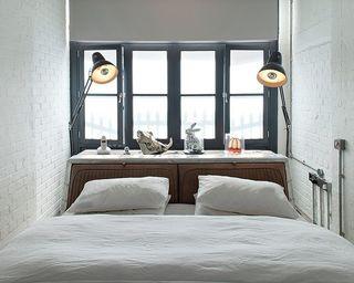 简约北欧风小卧室窗户装饰效果图
