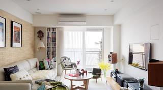 自然清新宜家装修风格一室两厅效果图