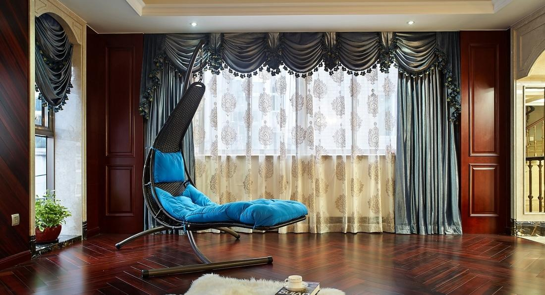 精美新古典欧式家装窗帘案例