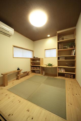 原木清新日式三居室室内装潢设计图