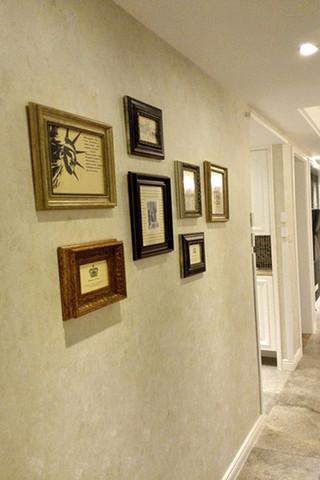 简约复古美式家装照片墙设计