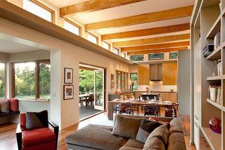 典雅美式现代设计风格别墅室内吊顶效果图