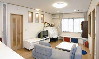 宜家日式简约风格二居室装修效果图