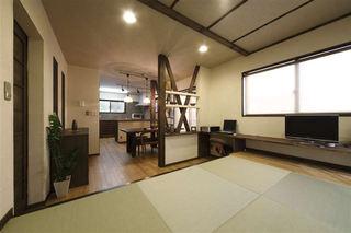 简约宜家日式和风家装设计开放式二居室设计