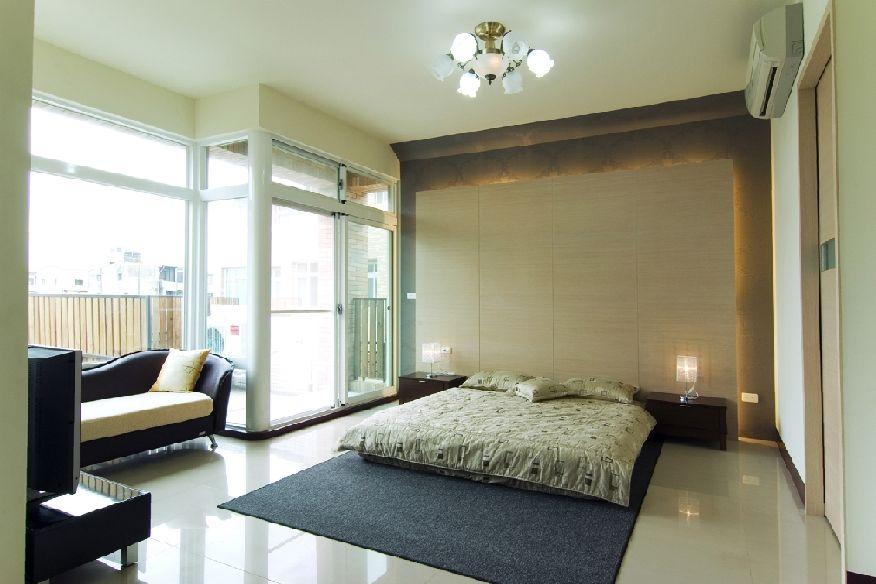 现代简约风格卧室设计装修效果图