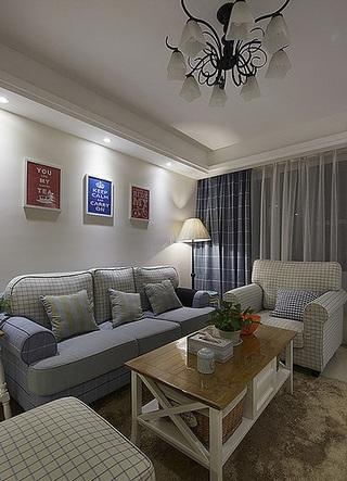 自然清新韩式田园风二室二厅装修效果图