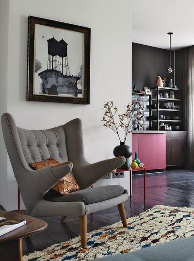 复古浪漫简欧风格公寓室内装修案例图