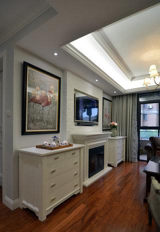 80平宜家欧式风格二居室设计装修图