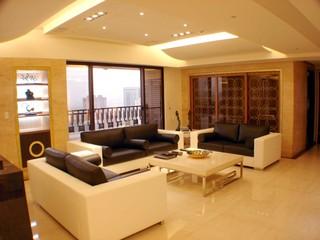 82平两室两厅简约装修设计图