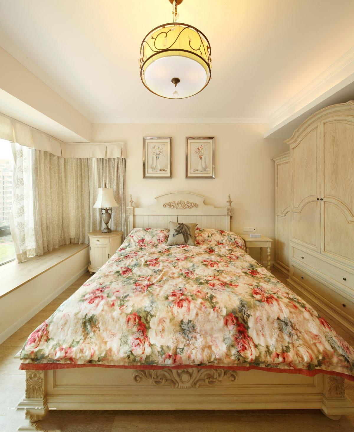 温馨浪漫美式田园风格卧室装修大全