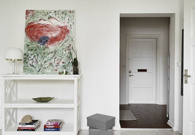 北欧风格小户型设计玄关装饰效果图