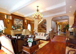 欧式温暖托斯卡纳风格别墅室内隔断设计欣赏图