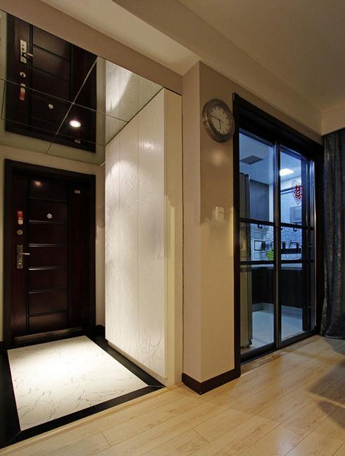 简约现代风米色玄关室内装修设计图片
