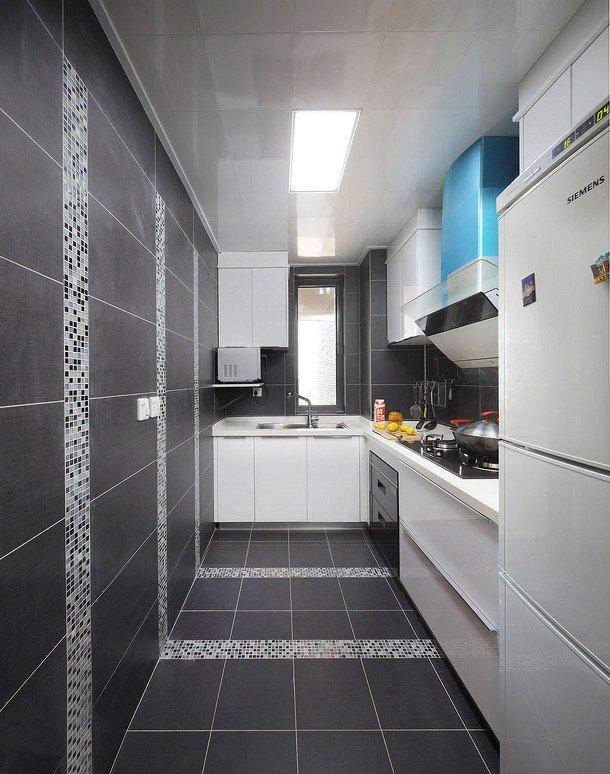 简约精美宜家风格厨房集成吊顶效果图