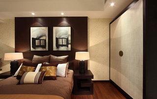180平摩登新中式公寓室内设计装修图