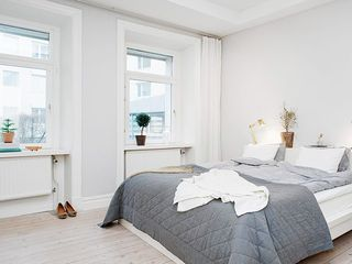 简约精致美式设计公寓小三居装修效果图