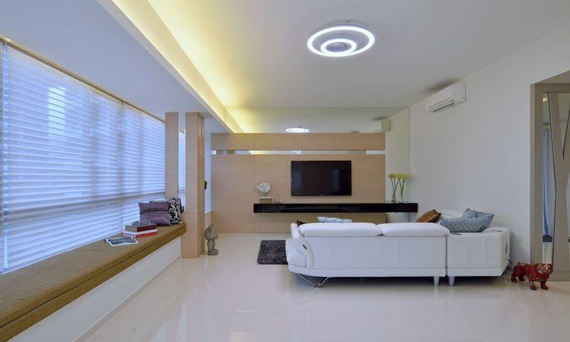简约时尚现代设计客厅效果图大全