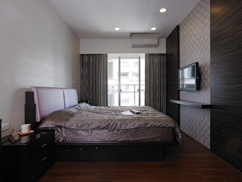 简约成熟现代家装卧室装修效果图