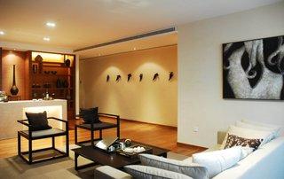200平简中式风格小别墅装修设计案例