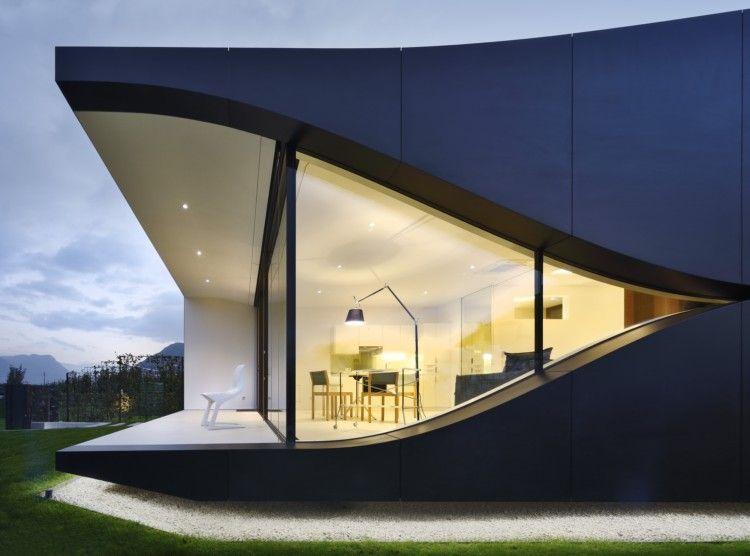 现代时尚别墅窗户设计