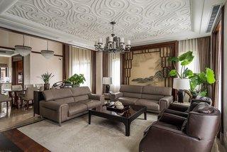 明清家具中式风格别墅装饰欣赏图