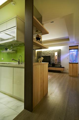 环保简约实木休闲田园风设计三居室效果图