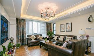 68平温馨复古美式风格二居装修效果图