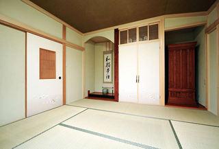 禅意日式宜家设计风格二居室装修效果图