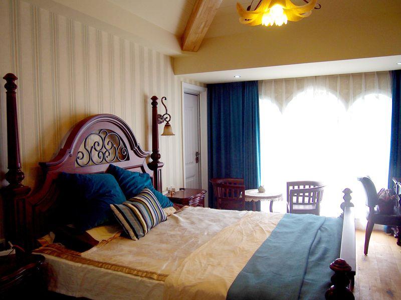 怀旧美式风格卧室装修效果图