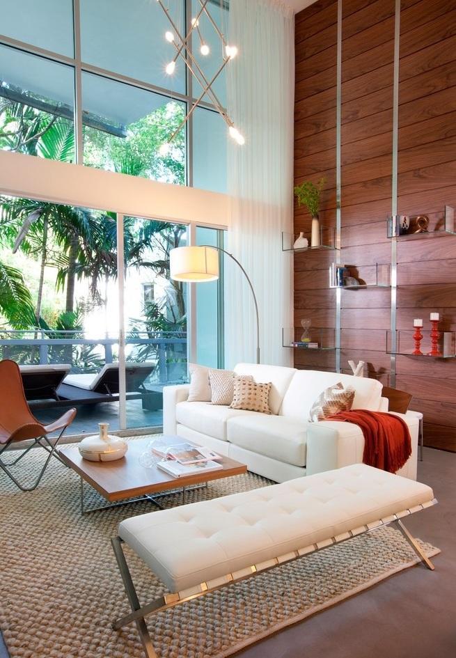 简洁温馨简约风格别墅室内装修效果图
