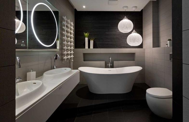 创意简约时尚卫生间设计图片